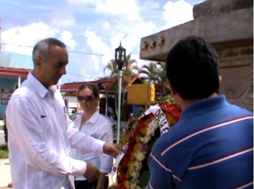 Constata embajador Italiano en Cuba historia sobre la fundación de Mantua