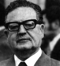 Salvador Allende vive.